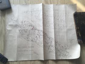 1879年清代石印地图 太仓 崇明 一张 包老包真
