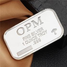 OPM银块外国银块银条低于银价