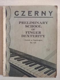 钢琴车尔尼czerny636乐谱