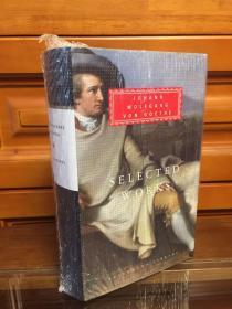 Selected works by Goethe - 歌德作品选 英译本 everyman library 人人文库布面精装 巨厚本
