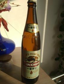 一番榨空啤酒瓶