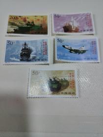 邮票中国人民解放军建军70周年一套5枚合售