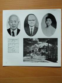 河南大学老照片:1.第一届1928年6月毕业生名录;2..刘葆庆教授;3,农学院1927年所在地(开封繁溚)