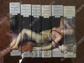 【现货包邮】6卷全 卡萨诺瓦 History of My Life Giacomo Casanova 6 vols