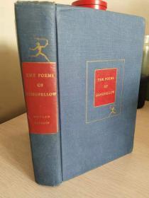 The Poems of Longfellow《朗费罗诗集》  精装原版  品相佳
