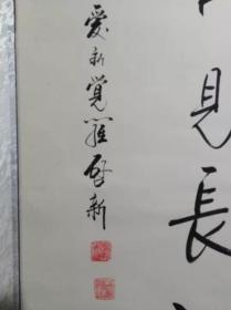 XSG爱新觉罗启新书法作品