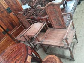 古董古玩黄花梨老家具椅子会所别墅