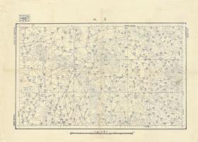 民国十七年(1928年)《邹城老地图》图题为《香城》图中包含邹县、滕县(滕州),四至范围请看图左上角分幅表。全图绘制详细,比例尺十万分之一,山东陆军测量局测绘、此图种非常稀少,邹城、滕州地理地名历史变迁重要史料。原图高清复制,裱框后,风貌佳。