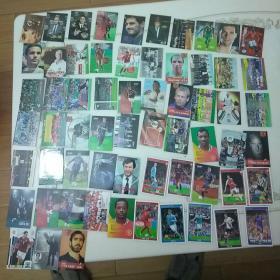 足球周刊 球星卡 共63张,见图