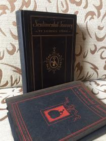 A Sentimental Journey by Laurence Sterne -- 劳伦斯 斯特恩《伤感之旅》Dodd, Mead & Company 1929年出版 Valenti Angelo插画 精装品好