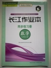 长江作业本 同步练习册 数学 七年级上册新