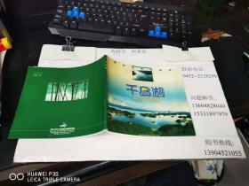 千岛湖碧水画中游  24开本铜版纸画册