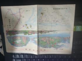 乐山市导游图