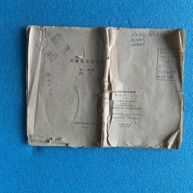 著名戏剧剧作家、导演、理论家 胡沙遗作  《回忆延安的秧歌》(1960年  原始校样 书稿 未刊稿)