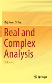 现货 Real and Complex Analysis: Volume 2 英文原版 实分析和复分析:第2卷