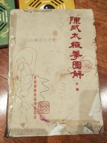 陈式太极拳图解 小架(打字油印本)绝版 稀少!!
