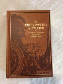 david day 指南 豪华版 竹节书脊金边版 an encyclopedia of tolkien deluxe
