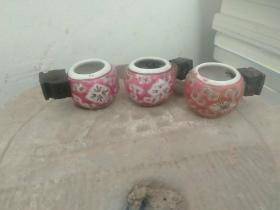 鸟食罐(三个合售)