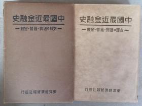 【孔网孤本】珍贵中国金融货币史料!1936年 滨田峰太郎著《中国最近金融史》原函一册全!介绍中国的通货、上海金融市场等。中国的货币制度、银元、纸币等