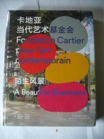 大型画册:卡地亚当代艺术基金会:陌生风景(汉语、英语对照)