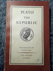 PLATO THE REPUBLIC PENGUIN 企鹅经典 18X11.3CM