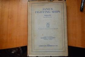 英文原版!《JANE`S FIGHTING SHIPS 1959-60》简氏军舰年鉴   8开本横版硬精装560页铜版纸厚图册  上世纪50年代末世界各国海军大图集