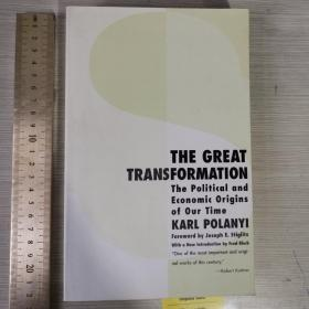 The great transformation the political and economic origins of our time 大转型 波兰尼 英文原版