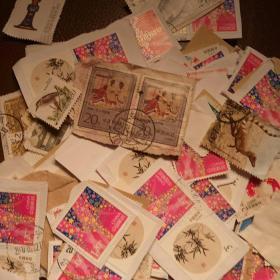 100多张80年代 90年代邮票一起合售