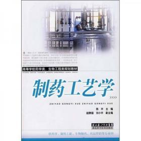 正版 制药工艺学湖北 陈平  编 科学技术出版社 9787535239303