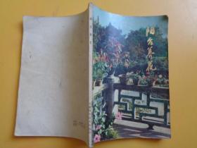 阳台养花【1983年1版1印】