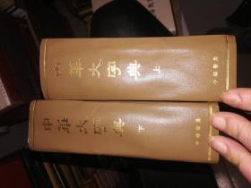 中华大字典上下(32开精装九品中华书局1981年)