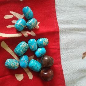 珠子12颗,材料未知,喜欢的来买,售出不退。
