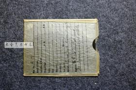 民国湖北汉口帆船玻璃底片一张,10.7X8.1厘米带原装封套。边缘有成像层破损脱落。仅标一品当标本卖。