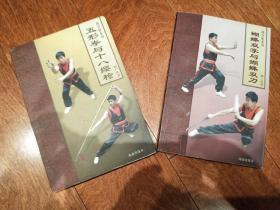 南少林系列(韩广玖)2本合售 蝴蝶双掌与蝴蝶双刀 + 五形拳与十八樱枪