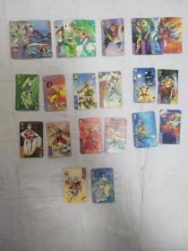 统一小当家水浒英雄传扑克卡25张