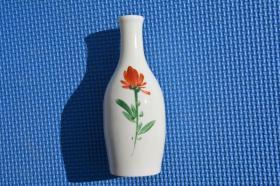 民国 白瓷 手绘花卉 小瓷瓶 老瓷瓶 老物件摆设