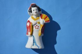 几十年的日本歌姬 瓷像摆件