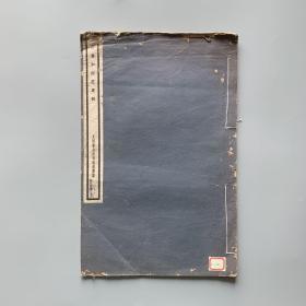 民国13年 珂罗版 8开 画册《石涛和尚花果册》  一册全