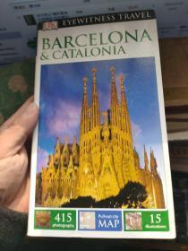 英文原版  DK Eyewitness Travel Guide: Barcelona & Catalonia