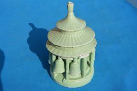 7080年代 唐山栗园瓷厂 天坛造型 老瓷器 酒具 酒筛子