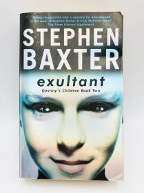 Exultant: destinys Children Book 2 英文原版《经历:命运的儿童书2》