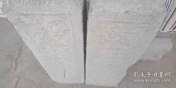 清代山西地方经典石雕----《民间门墩石》-----一对--------虒人荣誉珍藏