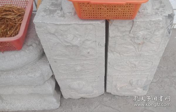 清代山西地方经典石雕----《晋东南民间地方门墩石》-----一对--------虒人荣誉珍藏