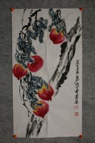 【保真】齐慧娟,北京人,祖籍湖南,齐白石孙女