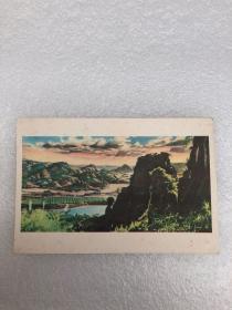 50-60年代乐昌明信片:乐昌坪石金鸡岭明信片