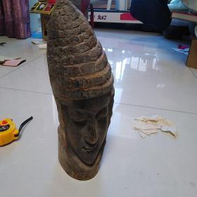 竹雕,年代不详,个人认为应该是改革开放后80年代的手工雕刻制品。品相如图售出不退。