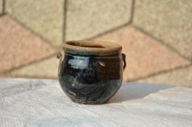 来自陕北的 民俗双耳老陶罐 历史悠久