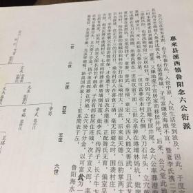 惠来蔡氏族谱资料,溪西镇鲁阳念六公系