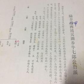 陆丰甲西镇蔡氏族谱,有莆田到饶平东界迁入