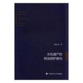 """文化遗产的刑法保护研究/""""地方法治与地方治理""""研究丛书"""